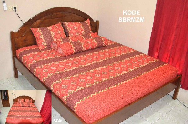 sprei batik solo terbaru