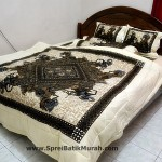 Bed Cover Batik Wayang Arjuna