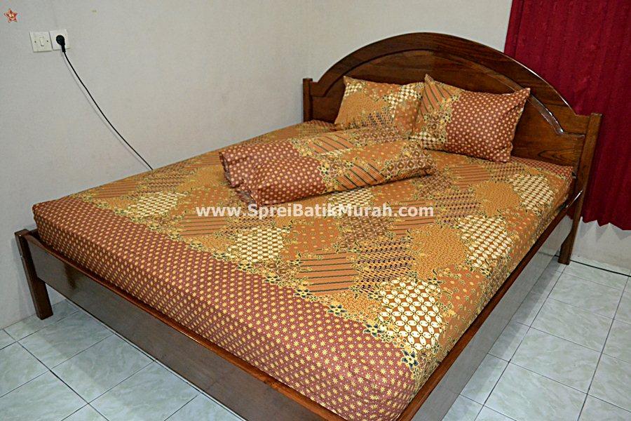 sprei batik truntum kombinasi