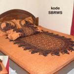 Sprei Batik Motif Wayang Semar