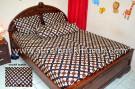 Sprei Batik Yogyakarta Motif Kembang Sepatu