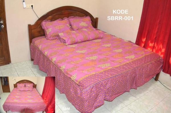 Sprei batik rumbai modern