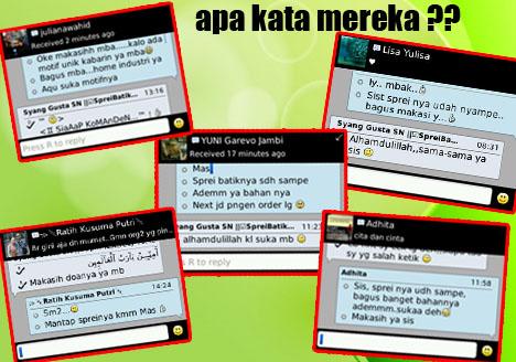 Sprei Batik Murah